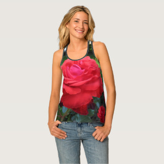 Gorgeous Red Roses Singlet