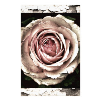 Gorgeous Rose Customised Stationery