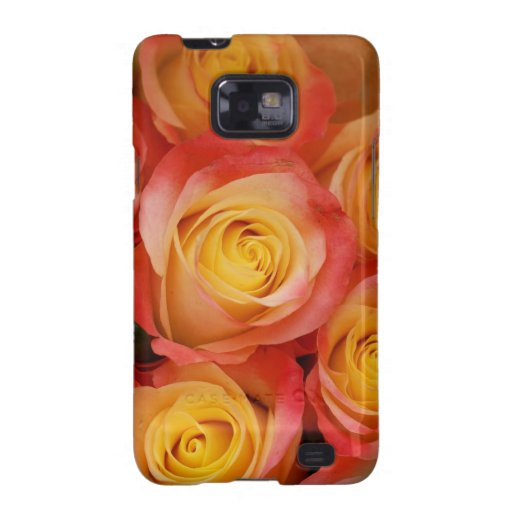 Gorgeous Roses Samsung Galaxy S2 Covers