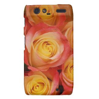 Gorgeous Roses Motorola Droid RAZR Covers