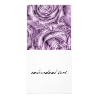Gorgeous Roses,soft lilac Picture Card