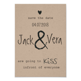 Gorgeous Rustic Dream Save the Date customisable Card