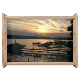 Gorgeous Sunset Serving Tray