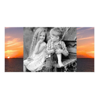 Gorgeous Sunset | Turks and Caicos Photo Personalised Photo Card