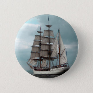 Gorgeous Tall Ship Button