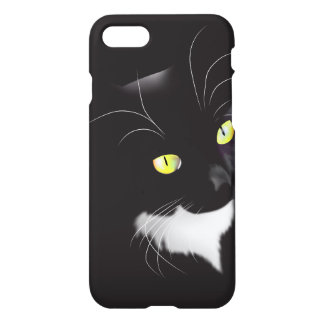 Gorgeous Tuxedo Cat Savvy iPhone 7 Case