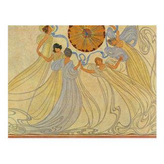 Gorgeous Vintage Art Nouveau Cards Postcards