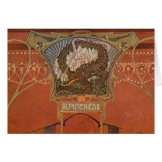 Gorgeous Vintage Art Nouveau Cards, Postcards