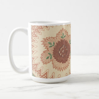 Gorgeous Vintage Floral Fabric Mug