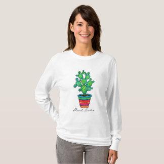Gorgeous Watercolor Cactus In Beautiful Pot T-Shirt