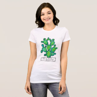 Gorgeous Watercolor Prickly Cactus T-Shirt