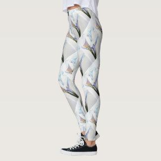 GORGEOUS WHITE CALLA LILIES | FLORAL LEGGINGS