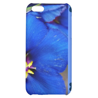 Gorgeous Wild Blue Poppy special quote iphone case Cover For iPhone 5C