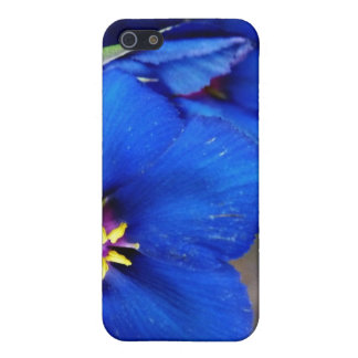 Gorgeous Wild Blue Poppy special quote iphone case iPhone 5 Case