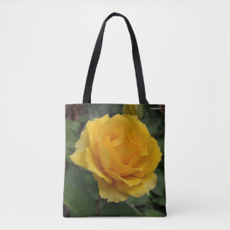 Gorgeous Yellow Garden Rose Bloom Tote Bag