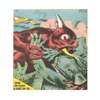 Gorgo and Cyclops Monster Notepad