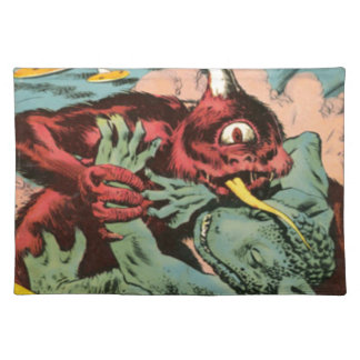 Gorgo and Cyclops Monster Placemat