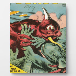 Gorgo and Cyclops Monster Plaque