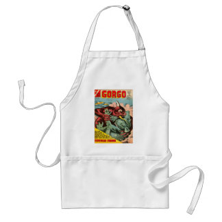 Gorgo and Cyclops Monster Standard Apron