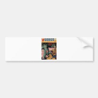 Gorgo on the Moon Bumper Sticker