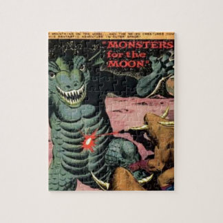 Gorgo on the Moon Jigsaw Puzzle