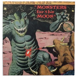 Gorgo on the Moon Napkin