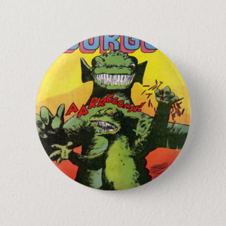 Gorgo the Creature from Beyond 6 Cm Round Badge