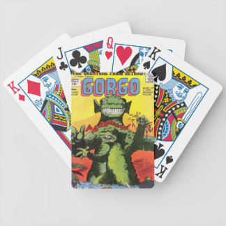 Gorgo the Creature from Beyond Bicycle Playing Cards