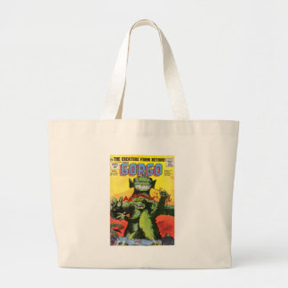 Gorgo the Creature from Beyond Large Tote Bag