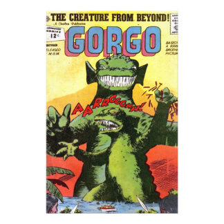 Gorgo the Creature from Beyond Personalized Stationery