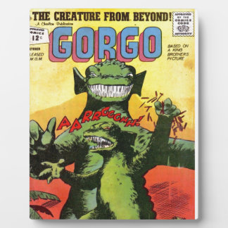 Gorgo the Creature from Beyond Plaque