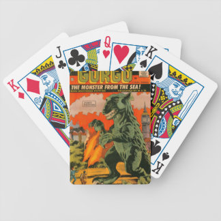 Gorgo the Monster from the Sea Bicycle Playing Cards