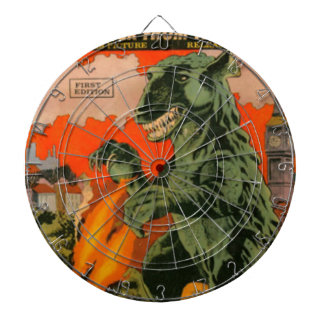 Gorgo the Monster from the Sea Dartboard