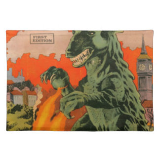 Gorgo the Monster from the Sea Placemat