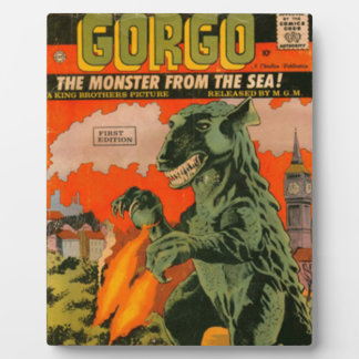 Gorgo the Monster from the Sea Plaque