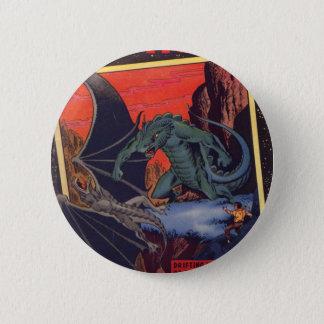 Gorgo vs. Pterodactyl 6 Cm Round Badge