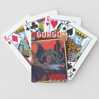 Gorgo vs. Pterodactyl Bicycle Playing Cards