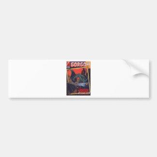 Gorgo vs. Pterodactyl Bumper Sticker