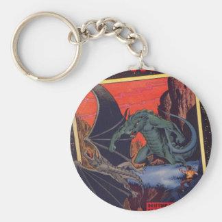 Gorgo vs. Pterodactyl Key Ring