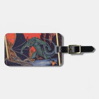 Gorgo vs. Pterodactyl Luggage Tag