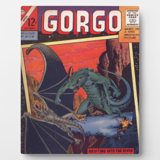 Gorgo vs. Pterodactyl Photo Plaques