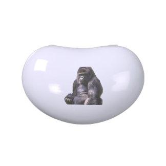 Gorilla Ape Monkey Candy Tin