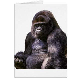 Gorilla Ape Monkey Card