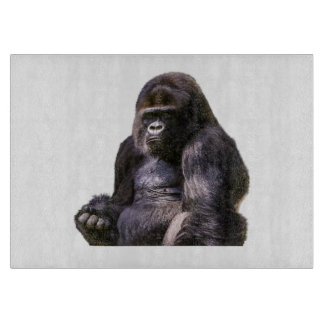 Gorilla Ape Monkey Cutting Board