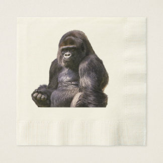 Gorilla Ape Monkey Disposable Napkin