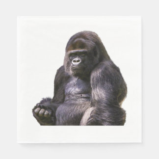 Gorilla Ape Monkey Disposable Napkins