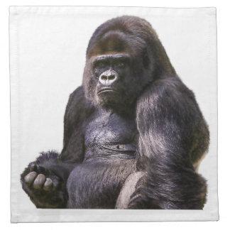 Gorilla Ape Monkey Napkin
