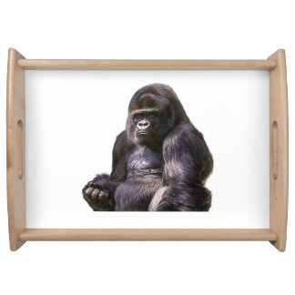Gorilla Ape Monkey Serving Tray