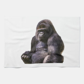 Gorilla Ape Monkey Tea Towel