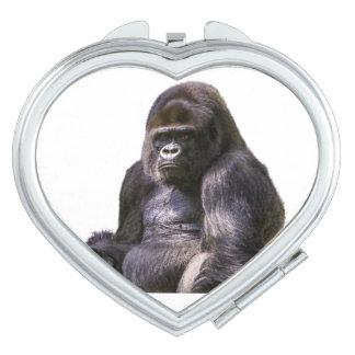 Gorilla Ape Monkey Travel Mirrors